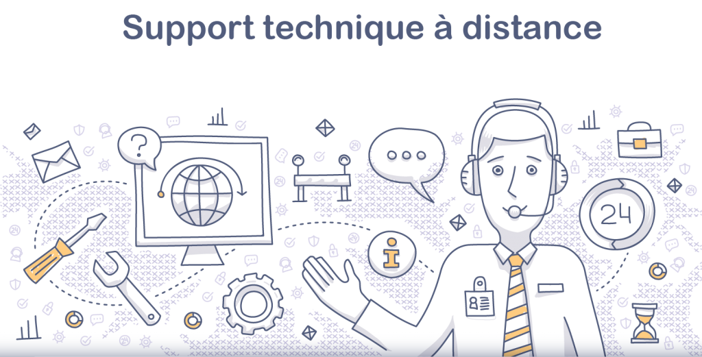 Rouen informatique support technique à distance