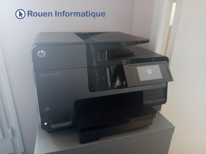 Rouen informatique installation dépannage imprimante
