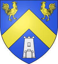 logo blason armoirie franqueville saint pierre